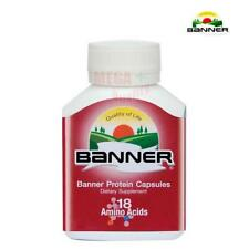 30 caps BANNER Dietary Supplement Banner Protein Capsules 18 L-Form Amino Acid