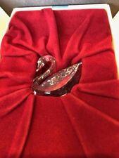 Swarovski Scs Collectors Piece Swan #8605