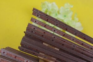 25x Strip Guitar Luthier Purfling Stripe Binding Marquetry Inlay wood 640x6x1mm