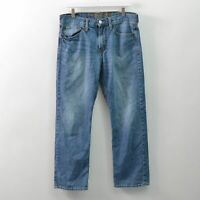 American Eagle Relaxed Straight Blue Jeans Denim Mens 32X28