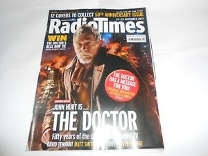 Radio Times 2013 Dr Doctor Who Magazine 50th Anniversary John Hurt