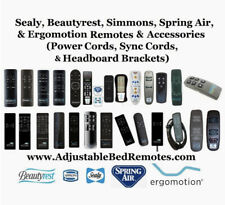 Beautyrest, Sealy, Ergomotion, & Simmons, All Remote Models for Adjustable Beds