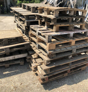Wooden Crates/Pallets, 80-130cm Length - Storage/Display/Decking - £3 Each