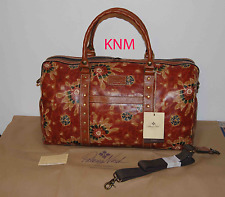 NEW WITH TAGS PATRICIA NASH 70's REVIVAL MILANO OVERNIGHT DUFFLE BAG $299