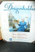 SIGNED ANNE & TODD McCAFFREY DRAGONHOLDER PROOF COPY 1999 US