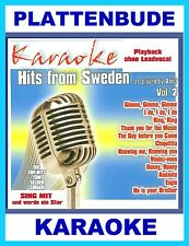 KARAOKE CD * ABBA Vol.2 ua RING RING * CHIQUITITA * I DO * THANK YOU FOR THE MUS