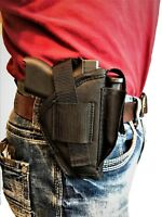 Nylon Gun Holster With Magazine Pouch For Smith & Wesson M&P Shield 40 & 9mm