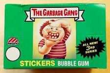1986 Garbage Gang NZ / Australia Original 3rd Series 3 GPK OS3 (EMPTY BOX ONLY)