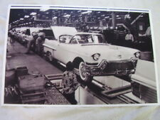 1958 CADILLAC ASSEMBLY LINE   11 X 17  PHOTO  PICTURE