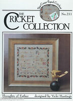 Father Cross Stitch Pattern Vicki Hastings Cricket