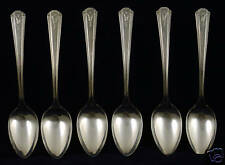 SL & GH Rogers Thor Silverplate Teaspoons 6 pc.