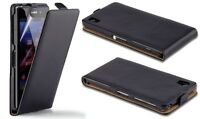 Luxury Leather Flip Wallet Stand Case Cover For iPhone 5 Samsung S5