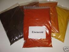 (EUR 4,18 / kg)2 Kg Eisenoxid rot (ziegelrot) Farbpigmente für Beton + Wand