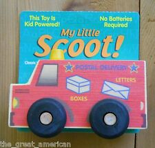 Mail Truck Postal Wooden Wood Toy Toys Scoot Montgomery Schoolhouse Made USA