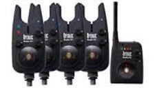 NEW DAIWA SUNDRIDGE WIRELESS G1 RADIO OPTONIC BITE ALARMS SET OF 4!