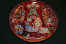 Franklin Mint/Bill Bell LtdEd Plate: Whisker Wuv - Cats