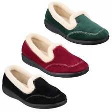 Mirak MAIER Ladies Womens Faux Fleece Memory Foam Slip On Warm Lined Slippers
