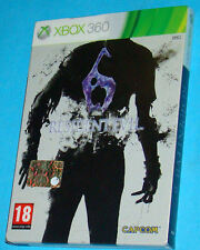 Resident Evil 6 - Steelbook -  Microsoft XBOX 360 - PAL