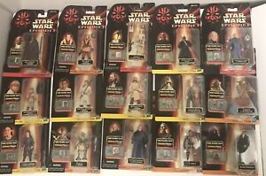 STAR WARS Action Figures Episode 1 Collection 1,2,3 Lot - Various Characters 15