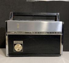 Vintage Zenith Trans-Oceanic Royal 3000 Fm-Am Multiband Transistor Radio Works!
