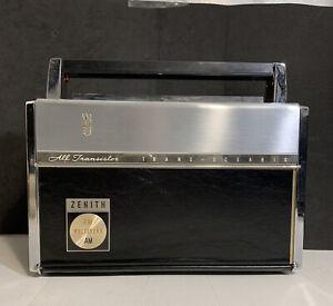 Vintage Zenith Trans-Oceanic Royal 3000 FM-AM Multiband Transistor Radio Works!!