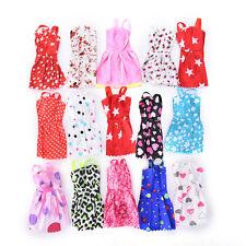 "10 Pcs Fashion Handmade Dresses Clothes For 11"" Barbie Doll Style Random 3Bx"