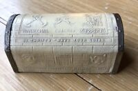 """VINTAGE DISNEY 1930's """"PINOCCHIO GEPPETTO CRICKET TREASURE CHEST BANK"""" BY ZELL"""