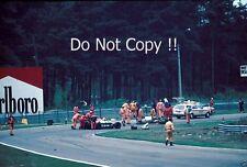Gilles Villeneuve Ferrari Accident Belgian Grand Prix 1982 Photograph 3