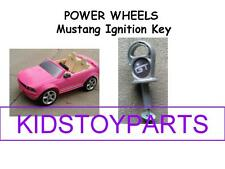 Power Wheels Barbie Ignition Key 2 Seat Boy / Girl Ford Mustang