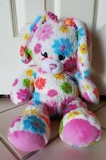 "Build A Bear Bunny Rabbit Flower Fun Daisies Plush Stuffed Animal Babw 17""Easter"