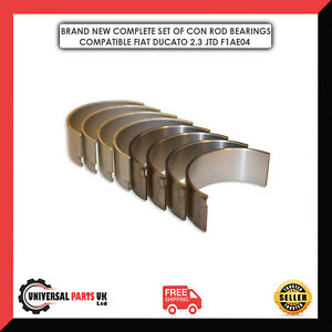 FIAT DUCATO 2.3 JTD CONNECTING ROD BEARINGS BRAND NEW