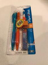 Paper Mate Quick Flip Mechanical Pencil Set, 0.7mm, HB #2,