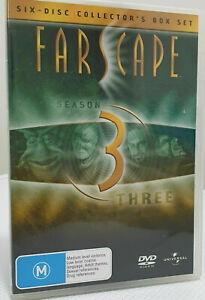 FARSCAPE Season 3 DVD (6-Disc Collector's Box Set) SERIES THREE - Free Postage