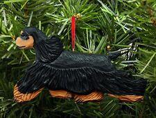 American Cocker Spaniel Ornament Black/Brown