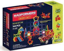 Magformers 144 Pcs Magnet Smart Magnetic Construction Set 63083 SAME DAY SHIP