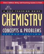 NEW - Wiley Self-Teaching Guides: Chemistry : Concepts and Problems .