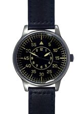 Retro Pattern XL 47mm Replica WW2 German Luftwaffe Military Aviators Watch