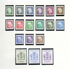 (E571) JAMAICA 1987  Definitives 18 MNH STAMPS
