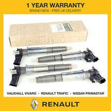 4x Genuine OE NEW Renault Fuel Injectors 2.0 DCI CTDI M9R 0445115007/0445115022