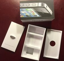 iPhone 4 Original OEM Box (only) with tray, booklet, partitions (no phone)