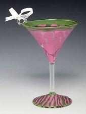 Lolita MINI Pink Giraffe Martini Glass ORNAMENT Retired Rare Christmas !