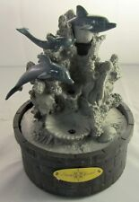 Newport Coast - Playful Dolphins LED Fountain - New in Box (Damaged)