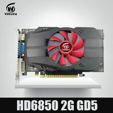 Original GPU Veineda Graphic card HD6850 2GB GDDR5 256Bit Game Video Card HDMI V