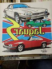 Vintage T-Shirt Transfer Jaguar S