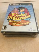 Cake Mania: Baker's Challenge (Sony PlayStation 2, 2008) PS2 NEW