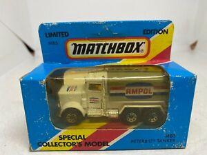 Matchbox Special Collectors Model MB5 Peterbilt Tanker 'Ampol' - NEW