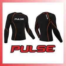 PULSE MOTOCROSS MX BMX MTB THERMAL COLD WEATHER BASE LAYER COMPRESSION TOP