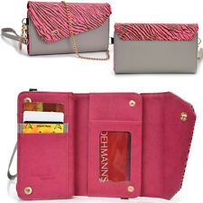 Lady Link Wallet Case & Crossbody Clutch Cover for Smart-Cell-Phones CRSL12