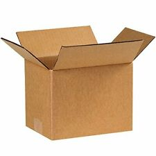 8 x 6 x 6 - 25 Pack Packaging Cardboard Shipping Corrugated Boxes For Mailing