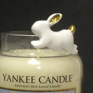 Yankee Candle HAPPY EASTER Hoppy Easter BUNNY RABBIT Jar Candle CLINGER CLING